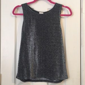 metallic tank top! ✨